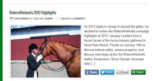 Riders4helmets Highlights 2012