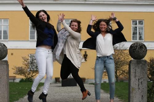 Vi klarade det! Tack för oss! Foto: Anna Nyström