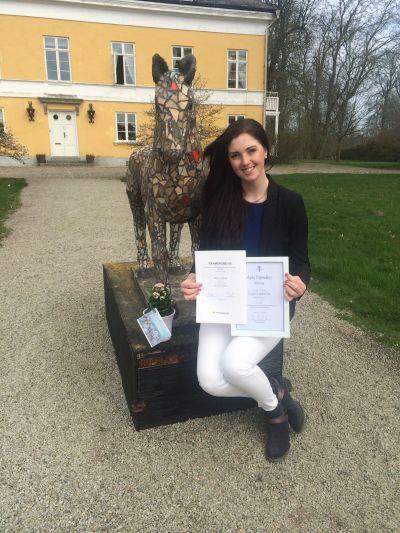 Examensbevis och Agrias Stipendium