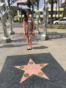 And of course the Walk of Fame