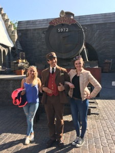 Universal Studios with Kajsa, Emma and Drew